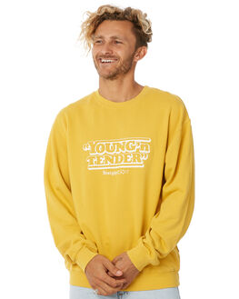 YELLOW MENS CLOTHING INSIGHT JUMPERS - 5000001847YLW