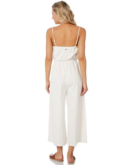 VINTAGE CREAM WOMENS CLOTHING RUSTY PLAYSUITS + OVERALLS - MCL0325CREAM