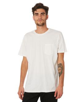 WHITE MENS CLOTHING KATIN TEES - KNBAS03WHT