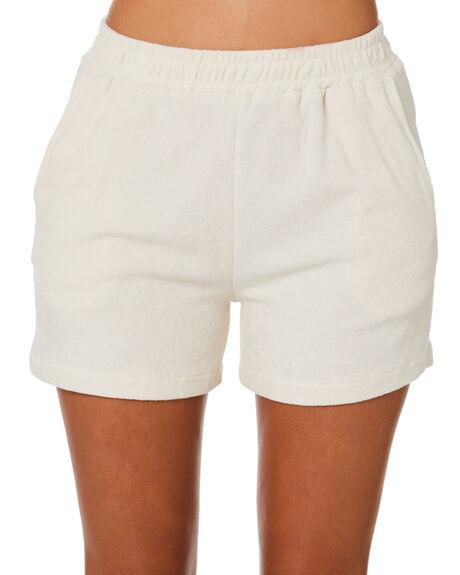 WHITE SAND WOMENS CLOTHING STUSSY SHORTS - ST1M0175WTSND