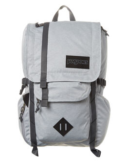 GREY HEATHER POLY MENS ACCESSORIES JANSPORT BAGS - JST52S-JS3F6