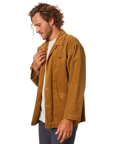 TAN MENS CLOTHING RIP CURL JACKETS - CJKEZ11046