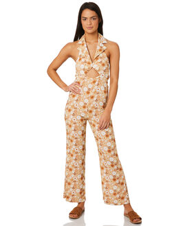 BUTTERCUP WOMENS CLOTHING AFENDS PLAYSUITS + OVERALLS - W184852BUTT
