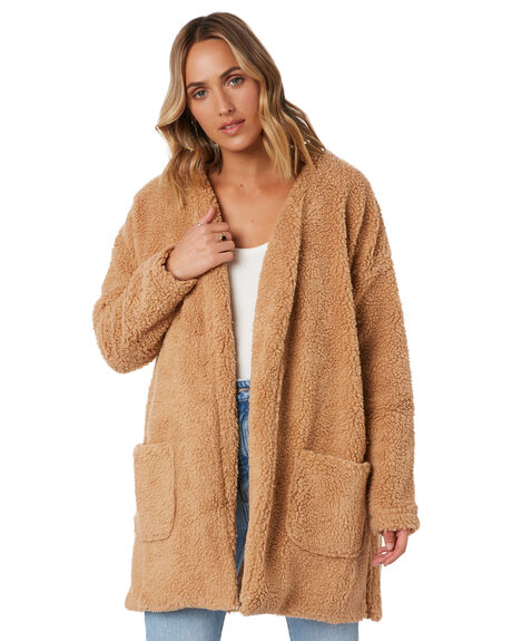 TAN WOMENS CLOTHING TOBY HEART GINGER JACKETS - THGC724-1KTAN