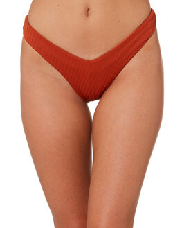 TERRACOTTA WOMENS SWIMWEAR FELLA SWIM BIKINI BOTTOMS - FS-B-037TER