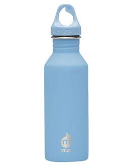 LIGHT BLUE MENS ACCESSORIES MIZU DRINKWARE - Z-M05AMZASLALGTBU