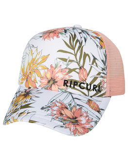 WHITE WOMENS ACCESSORIES RIP CURL HEADWEAR - GCAHK11000