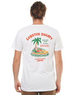 WHITE MENS CLOTHING THE LOBSTER SHANTY TEES - WILSONWHT