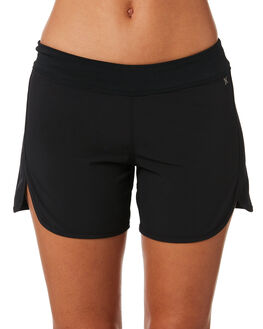 BLACK WOMENS CLOTHING HURLEY SHORTS - AQ3201010