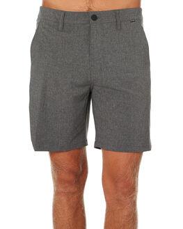 BLACK HEATHER MENS CLOTHING HURLEY SHORTS - CK4534032