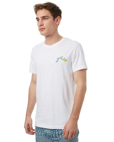 WHITE MENS CLOTHING RUSTY TEES - TTM1900WHT
