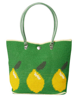 GREEN WOMENS ACCESSORIES SKIPPING GIRL BAGS - LEMONCRRYGRN
