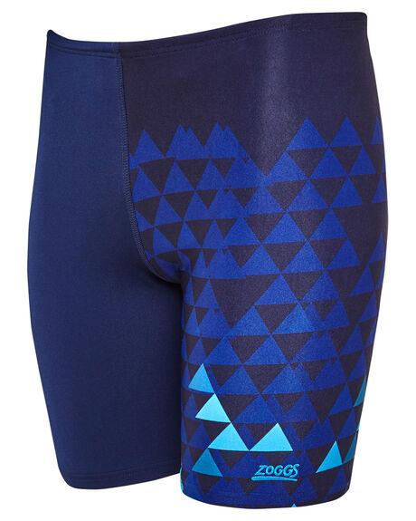 NAVY BLUE MENS CLOTHING ZOGGS SWIMWEAR - 4045204NVYBL