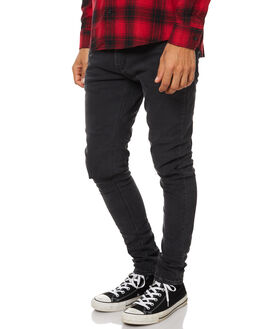 GRAZE SLASH MENS CLOTHING A.BRAND JEANS - 80898B2756