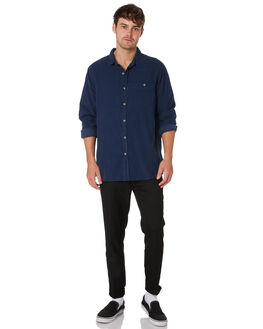 TRADE BLUE MENS CLOTHING ROLLAS SHIRTS - 10855K535