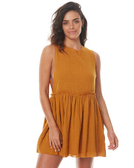TOBACCO WOMENS CLOTHING RUE STIIC DRESSES - SO1736YTOBA