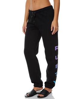 BLACK WOMENS CLOTHING RUSTY PANTS - PAL1007BLK