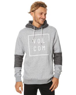 GREY MENS CLOTHING VOLCOM JUMPERS - A4131707GRY