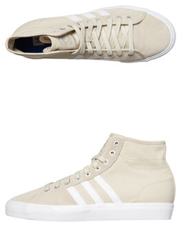 CLEAR BROWN WHITE WOMENS FOOTWEAR ADIDAS SNEAKERS - SSCQ1121BRNW