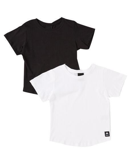 BLACK WHITE KIDS BOYS ST GOLIATH TOPS - 28X0508MULT