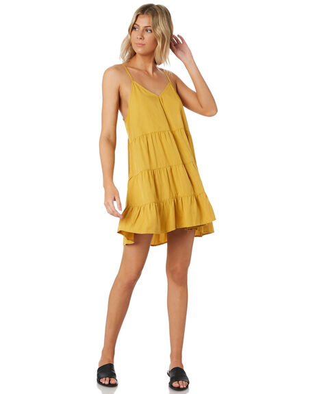GOLD WOMENS CLOTHING ALL ABOUT EVE DRESSES - 6424091GLD