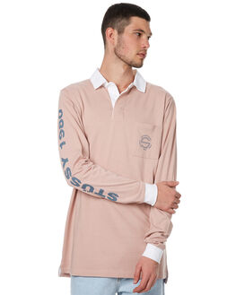 PINK MENS CLOTHING STUSSY SHIRTS - ST076106PINK