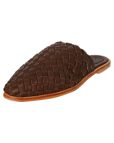 CHOC MILLED WOMENS FOOTWEAR URGE FLATS - URG17171CHOCM