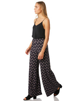 MIDNIGHT WOMENS CLOTHING TIGERLILY PANTS - T393370MID