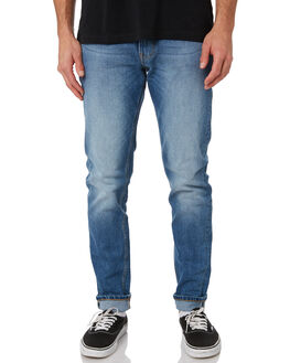 FAIRFAX BLUE MENS CLOTHING DR DENIM JEANS - 1330125-I54