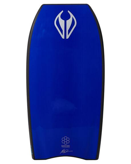 BLACK ELECTRIC BLUE BOARDSPORTS SURF NMD BODYBOARDS BODYBOARDS - NMDNJOYBLKBL