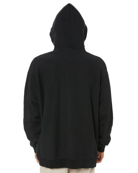 PIGMENT BLACK MENS CLOTHING STUSSY JUMPERS - ST015200PBLK