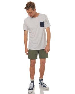 GREY MARLE MENS CLOTHING RHYTHM TEES - OCT17M-CT01-GRY