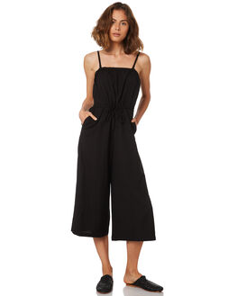 BLACK WOMENS CLOTHING BETTY BASICS PLAYSUITS + OVERALLS - BB812HS18BLACK