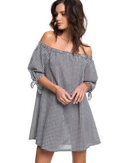 BRIGHT WHITE WOMENS CLOTHING ROXY DRESSES - ERJX603136WBB6