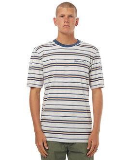 NAVY BLAZER MENS CLOTHING QUIKSILVER TEES - EQYKT03615BYJO