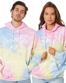MULTI MENS CLOTHING DYED JUMPERS - DY8777UWTIDYE