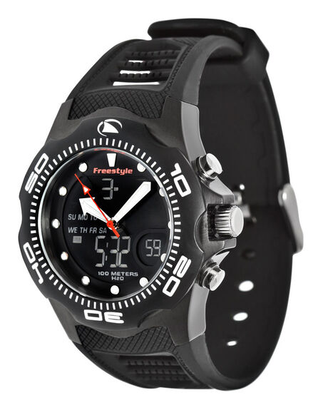 BLACK MENS ACCESSORIES FREESTYLE WATCHES - FS81241