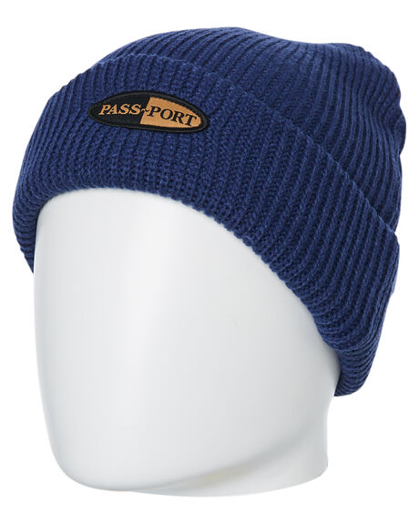 NAVY MENS ACCESSORIES PASS PORT HEADWEAR - PPPHARMBNVY