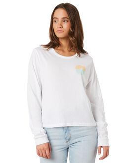 WHITE WOMENS CLOTHING HURLEY TEES - BQ0416-100