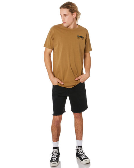 BROWN MENS CLOTHING SILENT THEORY TEES - 4044044BRWN