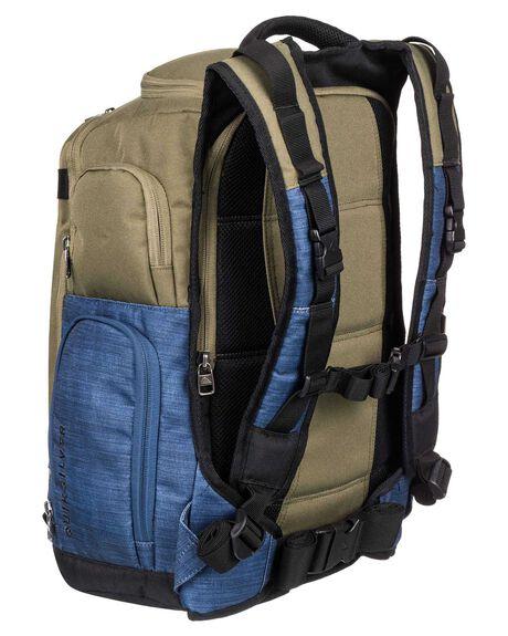 BURNT OLIVE MENS ACCESSORIES QUIKSILVER BAGS + BACKPACKS - EQYBP03572-GPZ0