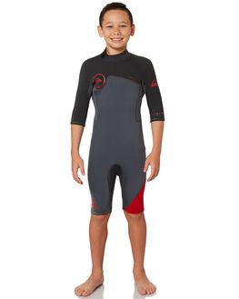 ASH GRAPHITE BOARDSPORTS SURF QUIKSILVER BOYS - EQBW503004XCCB