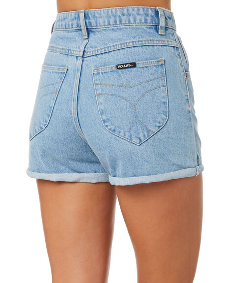 SUNDAY BLUE WOMENS CLOTHING ROLLAS SHORTS - 12790-4262