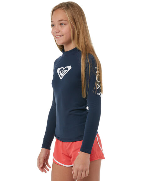 DRESS BLUES SURF RASHVESTS ROXY GIRLS - ERGWR03074BTK0