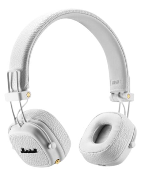WHITE MENS ACCESSORIES MARSHALL AUDIO + CAMERAS - 154378WHI