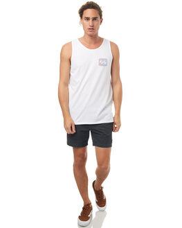 WHITE MENS CLOTHING BILLABONG SINGLETS - 9572504WHT