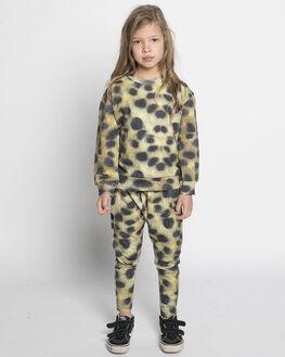LEOPARD PRINT KIDS GIRLS MUNSTER KIDS PANTS - MM182PA01LEO