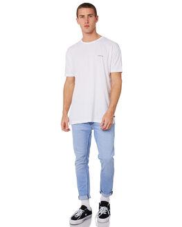 GLACIER BLEACH MENS CLOTHING A.BRAND JEANS - 812054150