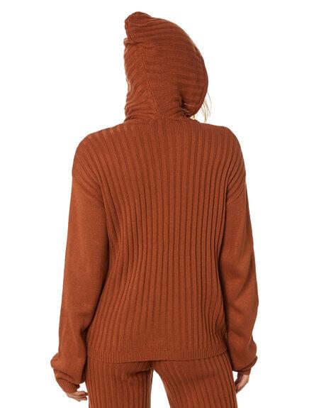 RUST WOMENS CLOTHING SNDYS KNITS + CARDIGANS - SET124RST