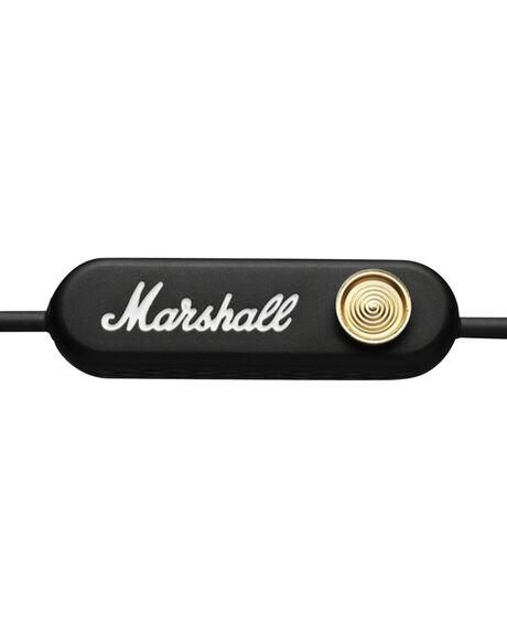BLACK MENS ACCESSORIES MARSHALL AUDIO + CAMERAS - 156087BLK